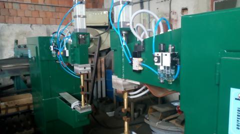 Poluautomatska linija za proizvodnju cevnih ograda